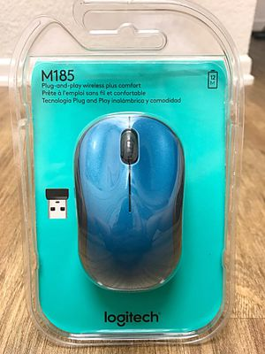 Logitech M185 Wireless Laser Mouse For MacBook or PC for Sale in Irvine, CA