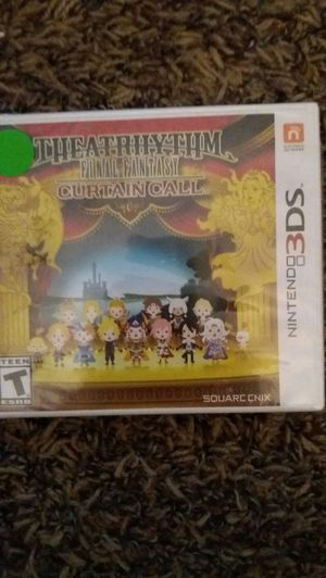 THEATRHYTHM FINAL FANTASY Curtain Call (Nintendo 3DS) NEW! for Sale in Lewisville, TX