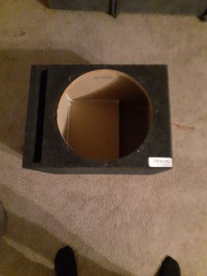 Bbox subwoofer box for Sale in Tigard, OR