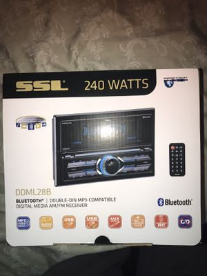 BRAND NEW SSL CAR STEREO SYSTEM for Sale in Hamilton Township, NJ