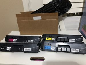 Brother Printers OfficeWorld Compatible Toner Cartridge Replacement for Brother 4 of them for Sale in Richmond, TX