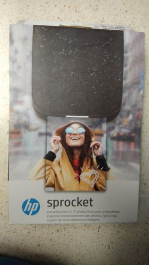 HP Sprocket Portable Photo Printer with photo paper for Sale in Clovis, CA