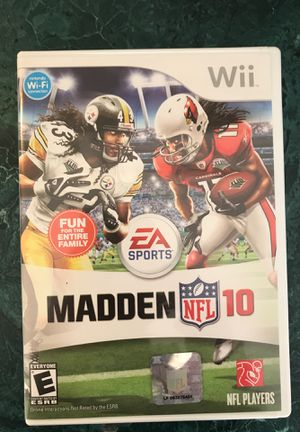 Madden NFL 10 - Wii for Sale in Clayton, NC