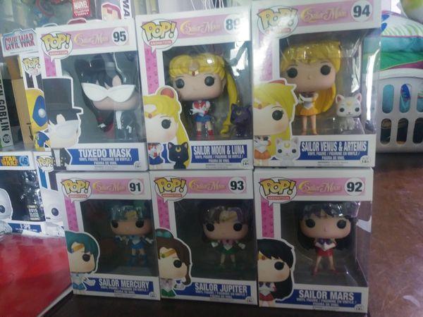 Funko Pop Sailor Moon Lot