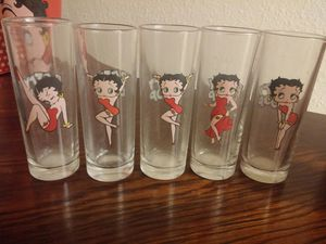 BettyBoop shot glasses for Sale in Houston, TX