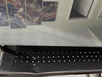 Black Glass Computer Desk for Sale in Hillsboro,  OR