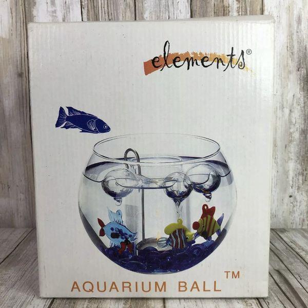 Elements New Aquarium Ball Tealight Cand