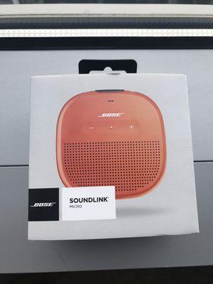 Bose SoundLink Micro Bluetooth Speaker for Sale in Seattle, WA