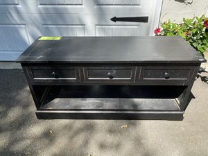 Tv stand with storage for Sale in Midland Park, NJ
