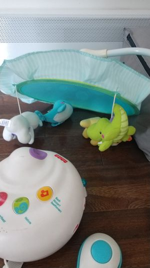 Fisher-Price musical projection with removable mobile and remote for Sale in Brooktondale, NY