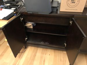Credenza, 2 cabinets and one drawer for Sale in Seattle, WA