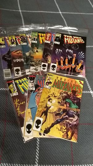 New Mutant 9 comic book lot for Sale in Independence, KS
