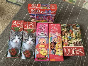 Puzzles for Kids for Sale in Redmond, WA