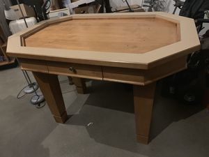 Custom 2-piece display island/table for kitchen dining room garage? for Sale in Bellevue, WA