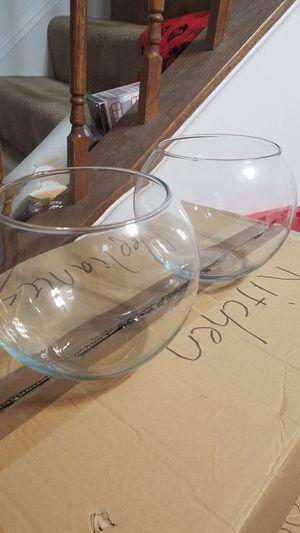 Paired glass vases for Sale in Manassas, VA