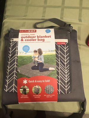 Outdoor blanket & cooler bag for Sale in Silver Spring, MD