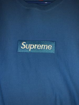 Supreme FW18 Box Logo Bright Royal (Blue) for Sale in Hollywood, FL