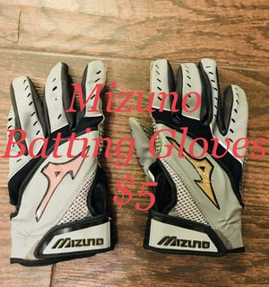 Mizuno Batting Gloves $5 baseball softball for Sale in Pasadena, TX