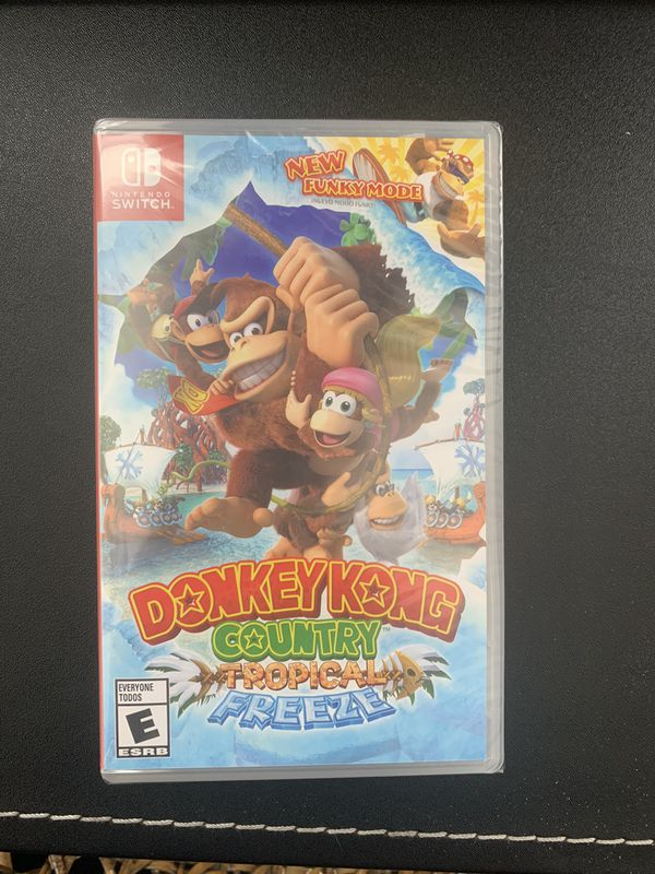 Donkey Kong Country Tropical Freeze - brand new unopened - Nintendo Switch