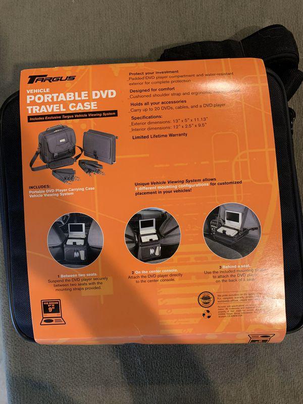 Portable DVD Player Travel Case