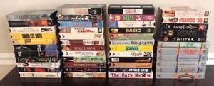 HUGE - Big Movie VHS Lot $10 for ALL for Sale in Port St. Lucie, FL