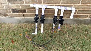 14 sprinkler heads and 4 valves for Sale in Dallas, TX