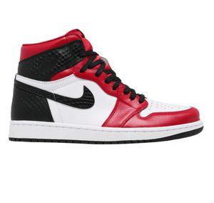 Jordan 1 snake skin or jordan 1satin red size 8 women for Sale in Wichita, KS