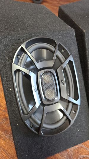 Polk Audio 6x9 speakers with enclosures for Sale in Chula Vista, CA