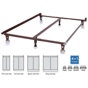 Brand New Bed Frame Rails Twin Full Queen King Adjustable Frame Save Over 50% OFF Sale! for Sale in Chicago, IL