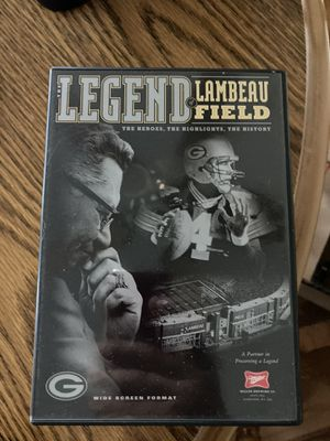 Legends of Lambeau packers DVD for Sale in Alsip, IL