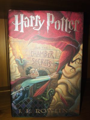 Harry Potter & the Chamber of Secrets (hard cover) for Sale in San Ramon, CA