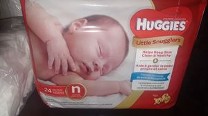 Huggies, and Pampers Newborn Diapers for Sale in Los Angeles, CA