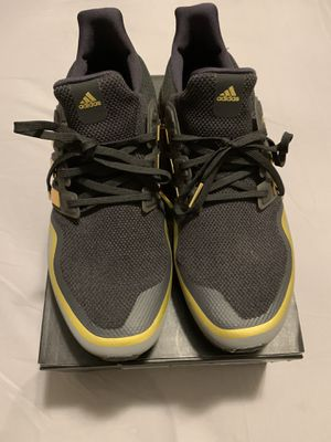 Adidas Ultraboost black and gold size 11 for Sale in West Lafayette, IN