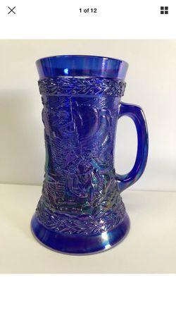 Blue Fenton glass mug for Sale in Los Angeles,  CA