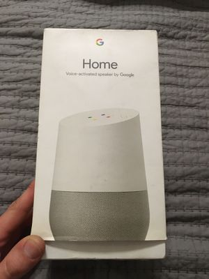 New Google smart assistant speaker for Sale in Victoria, TX