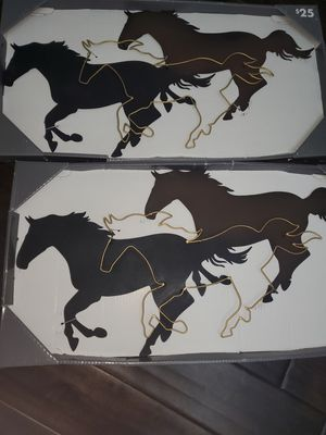 2 metal wall decorations. Never used. for Sale in Chesapeake, VA