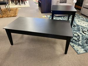 Noir coffee and end table set for Sale in Baton Rouge, LA