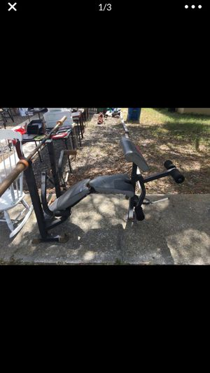 Weight Set Package Deal With Bars for Sale in Spring Hill, FL
