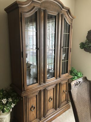 Beautiful brown China Cabinet for Sale in Toms River, NJ