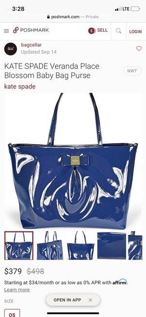 Kate Spade Diaper Bag for Sale in San Jose, CA