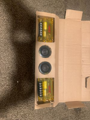 Pyle tweeters and channels for Sale in Fresno, CA
