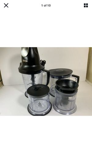 Ninja QB1005 Professional Master Prep 450W Pulse Blender and Food Processor for Sale in Garland, TX