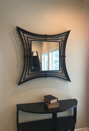 Large metal wall mirror for Sale in Puyallup, WA