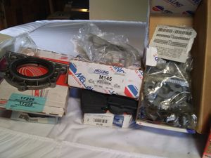 Toyota 20r parts new in Box. 20r Enigen half put together. All together there's over$1.000 Dollars in New parts. brakes 1980 Toyota RS5 truck. for Sale in Riddle, OR