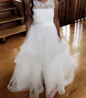 Camille Flower girl dress size 6 OBO for Sale in Woodbridge, VA