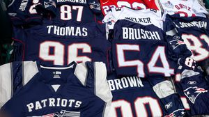 New England Patriots Collection jerseys All vintage for Sale in Sunset Valley, TX