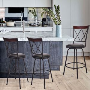 Pub Chairs Bar Stools Steel Frame Modern fast shipping . for Sale in Norcross, GA