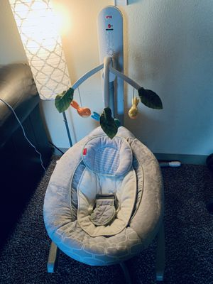 FisherPrice Bluetooth Connect Baby swing for Sale in Kent, WA