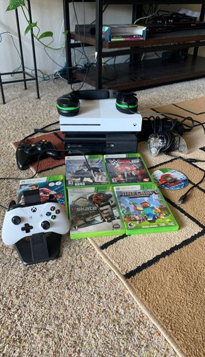 Xbox 360 and Xbox one s for Sale in Mountain View, CA