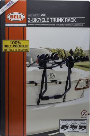 New in box heavy duty design 3 Bicycle Trunk Rack Cantilever 300 Bike Carrier Trunk or Rear Hatch Mount for Sale in Los Angeles, CA
